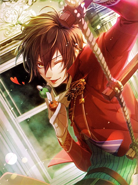 miko (Mangaka), Idea Factory, Code: Realize ~Princess of Genesis~ Official Artbook, Code: Realize, Arsène Lupin