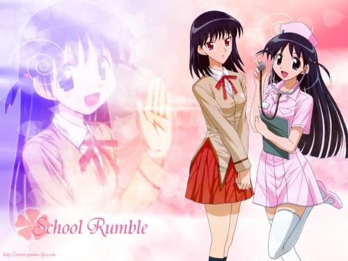 School Rumble, Yakumo Tsukamoto, Tenma Tsukamoto Wallpaper