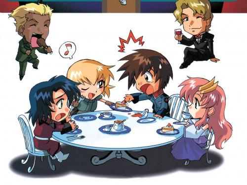As' Maria, Sunrise (Studio), Mobile Suit Gundam SEED, Lacus Clyne, Cagalli Yula Athha