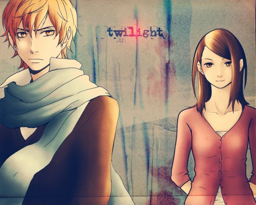 Ryuuji Gotsubo, Twilight, Bella Swan, Edward Cullen, Colorizations Wallpaper