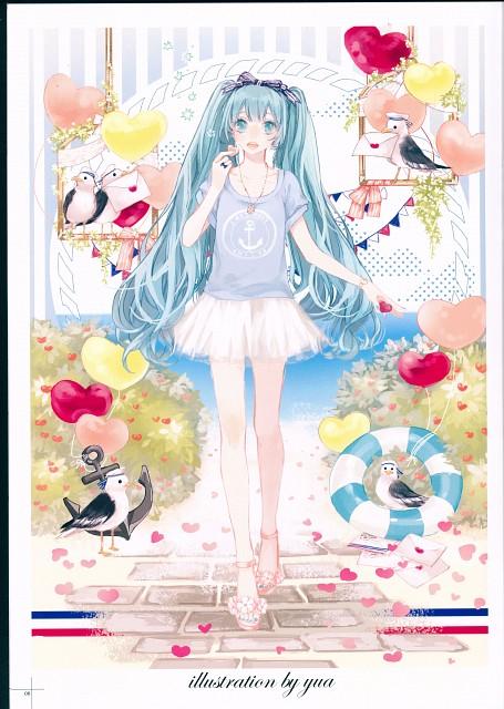 Yua (Mangaka), Milk Heart, Vocaloid, Miku Hatsune