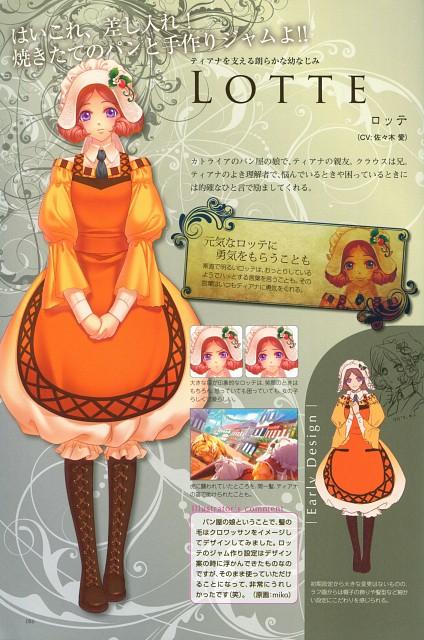 miko (Mangaka), Idea Factory, Beast Master and Prince Official Visual Artbook, Beast Master and Prince, Lotte (Beast Master and Prince)