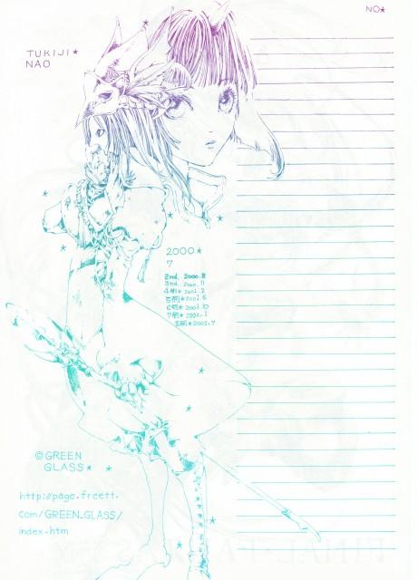 Green Glass, Final Fantasy IX, Eiko Carol, Freya Crescent, Stationery