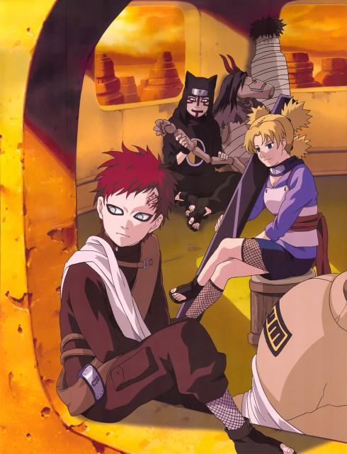 Studio Pierrot, Naruto, Gaara, Kankuro, Temari