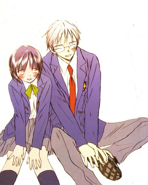 Shin Takahashi, SaiKano, Shuuji, Chise, Manga Cover