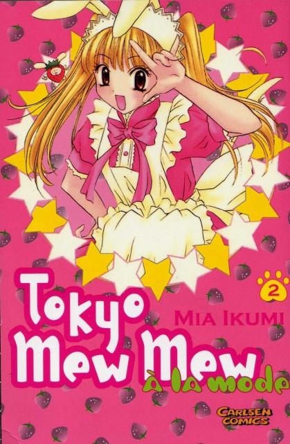Mia Ikumi, Tokyo Mew Mew, Berry Shirayuki, Manga Cover