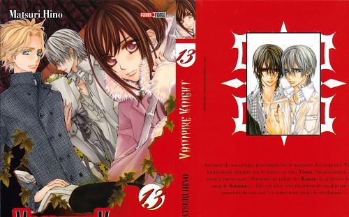 Matsuri Hino, Vampire Knight, Hanabusa Aidou, Zero Kiryuu, Yuuki Cross