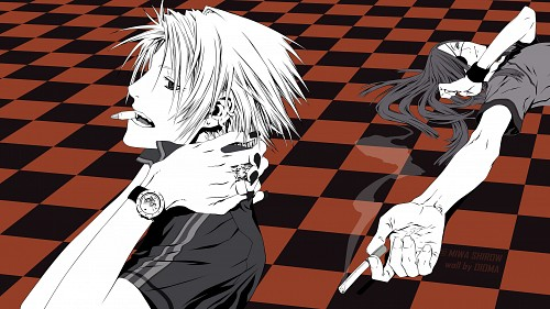 Miwa Shirow, David Production, Dogs: Bullets and Carnage, Haine Rammsteiner, Badou Nails Wallpaper