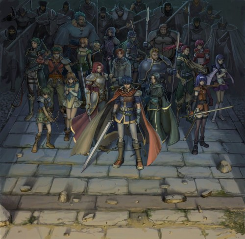 Senri Kita, Fire Emblem, Titania (Fire Emblem), Mia (Fire Emblem), Mist (Fire Emblem)