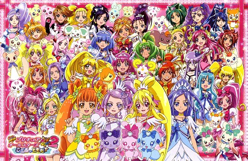 Toei Animation, Precure All Stars, Cure Pine, Cure Egret, Cure Berry
