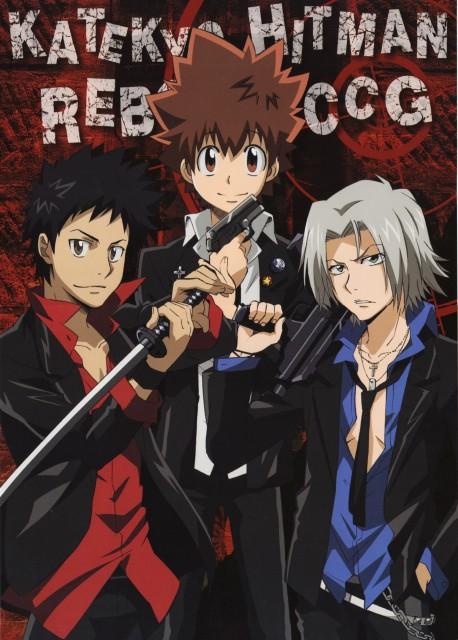 Katekyo Hitman Reborn!, Hayato Gokudera, Tsunayoshi Sawada, Takeshi Yamamoto