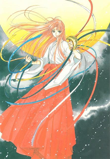 CLAMP, Madhouse, Cardcaptor Sakura, Cardcaptor Sakura Illustrations Collection 1, Kaho Mizuki
