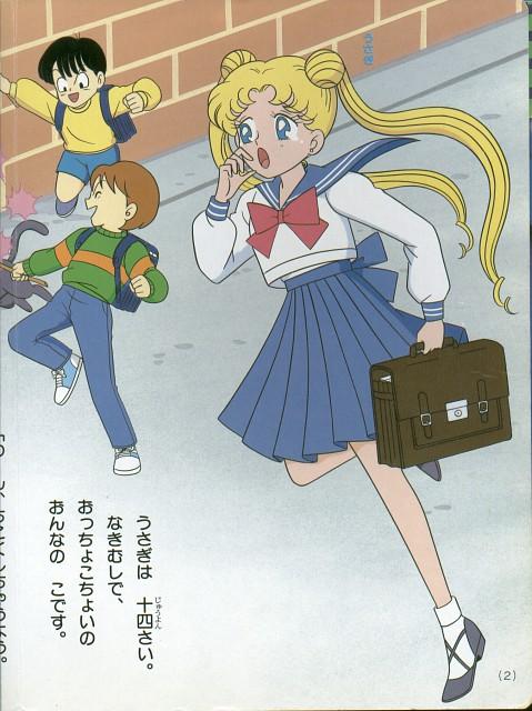 Toei Animation, Bishoujo Senshi Sailor Moon, Luna, Usagi Tsukino