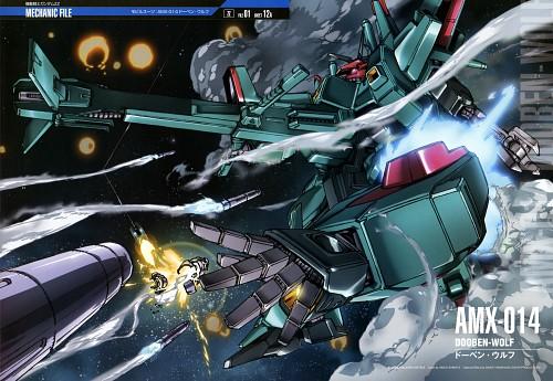 Sunrise (Studio), Mobile Suit Gundam - Universal Century, Mobile Suit Gundam Double Zeta, Gundam Perfect Files