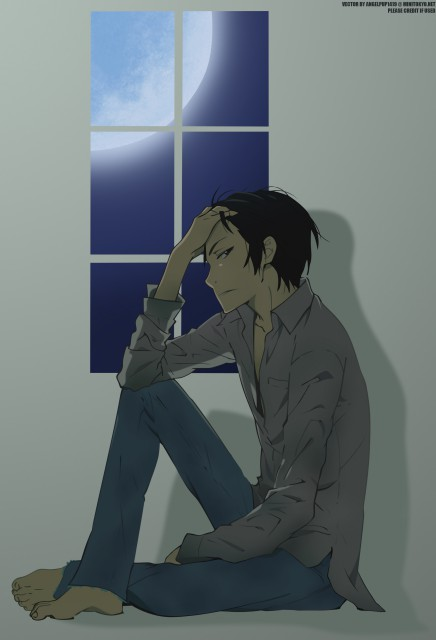 Akira Amano, Artland, Katekyo Hitman Reborn!, Kyoya Hibari, Vector Art
