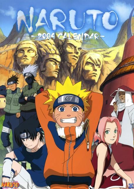 Studio Pierrot, Naruto, Hiruzen Sarutobi, Sasuke Uchiha, Sakura Haruno