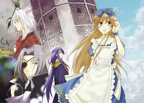 Soumei Hoshino, QuinRose, Heart no Kuni no Alice, Julius Monrey, Peter White