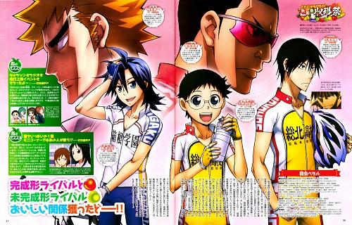 Wataru Watanabe, Yowamushi Pedal, Sakamichi Onoda, Sangaku Manami, Juichi Fukutomi