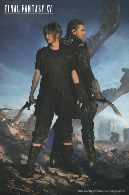 Square Enix, Final Fantasy XV, Nyx Ulric, Noctis Lucis Caelum