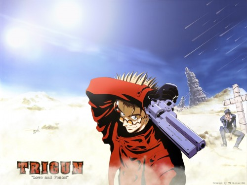 Madhouse, Trigun, Vash the Stampede, Nicolas D. Wolfwood Wallpaper
