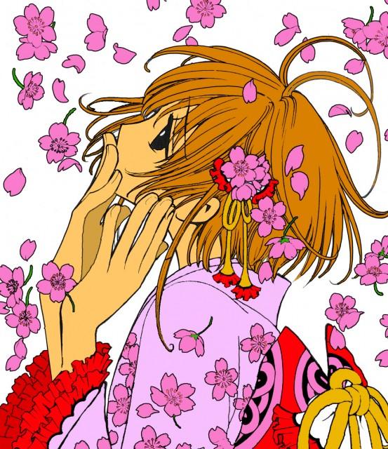 CLAMP, Tsubasa Reservoir Chronicle, Sakura Kinomoto, Vector Art