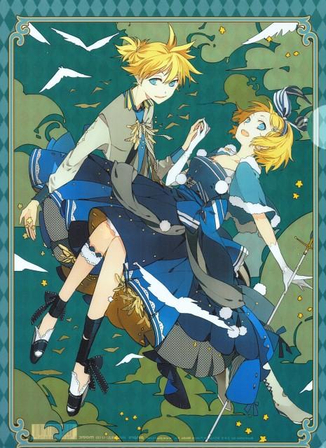 Suou, Vocaloid, Len Kagamine, Rin Kagamine, Pencil Board