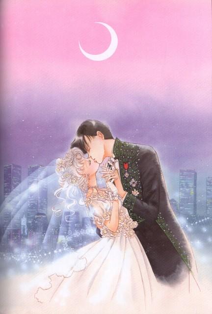 Naoko Takeuchi, Bishoujo Senshi Sailor Moon, BSSM Original Picture Collection Vol. V, Usagi Tsukino, Mamoru Chiba