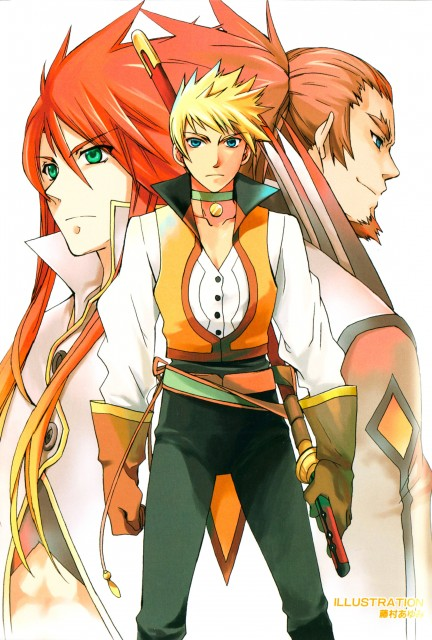 Kousuke Fujishima, Tales of the Abyss, Luke Fon Fabre, Van Grants, Guy Cecil