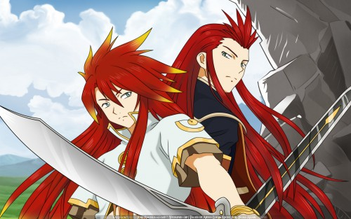 Tales of the Abyss, Luke Fon Fabre, Asch Wallpaper