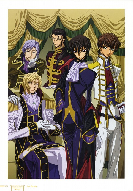 Yukie Sakou, Sunrise (Studio), Lelouch of the Rebellion, Code Geass Ilustrations Rebels, Lelouch Lamperouge