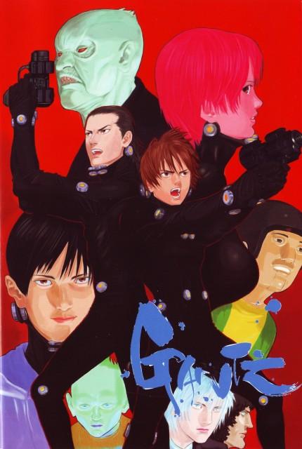 Hiroya Oku, Gantz, Joichiro Nishi, Kei Kishimoto, Masaru Katou