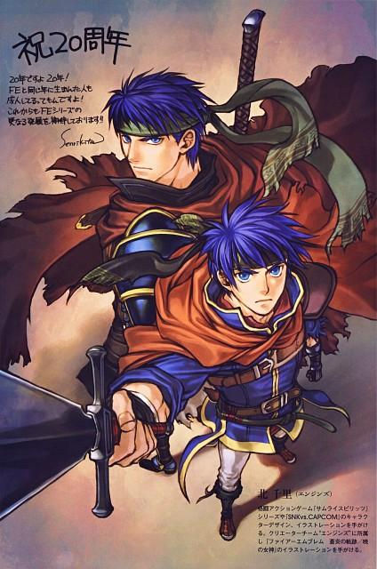 Senri Kita, Nintendo, Fire Emblem, Ike (Fire Emblem)