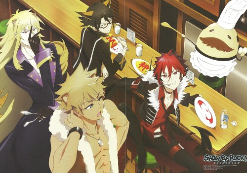 BONES, Show by Rock!!, Rom (Show by Rock!!), Aion (Show by Rock!!), Crow (Show by Rock!!)