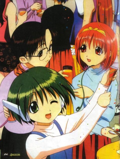 AQUAPLUS, To Heart, Tomoko Hoshina, Multi Hmx-12, Akari Kamigishi