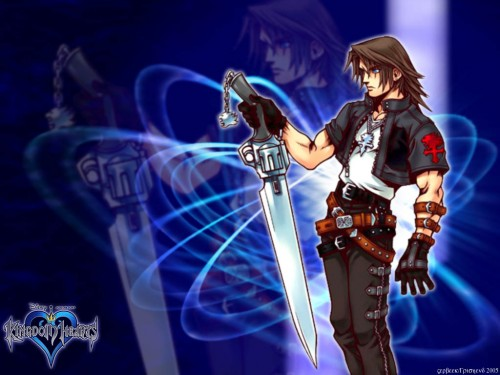 Square Enix, Final Fantasy VIII, Kingdom Hearts, Squall Leonhart Wallpaper