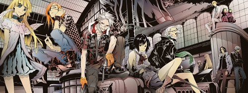 Miwa Shirow, Dogs: Bullets and Carnage, Luki & Noki, Haine Rammsteiner, Magato Fuyumine Wallpaper