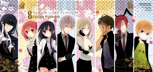 Cocoa Fujiwara, David Production, Inu x Boku SS, Karuta Roromiya, Zange Natsume