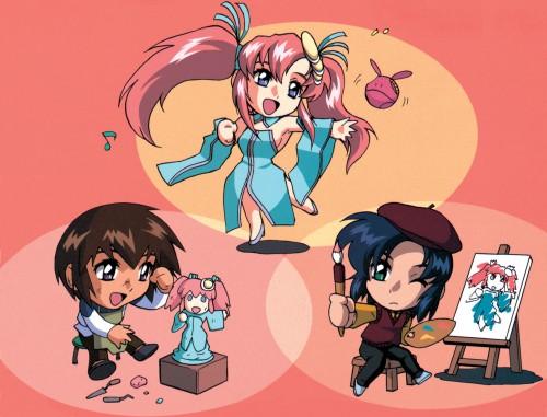 Sunrise (Studio), Mobile Suit Gundam SEED, Haro, Lacus Clyne, Athrun Zala