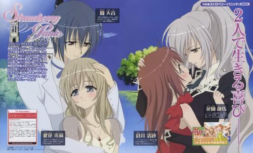 Madhouse, Strawberry Panic!, Amane Ohtori, Shizuma Hanazono, Hikari Konohana