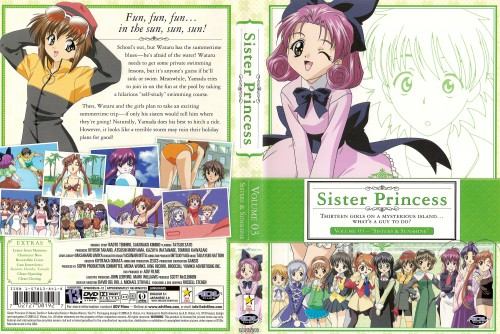 Naoto Tenhiro, Sister Princess, Yotsuba (Sister Princess), Aria (Sister Princess), Karen (Sister Princess)