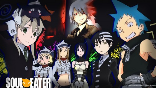 BONES, Soul Eater, Tsubaki Nakatsukasa, Patty Thompson, Soul Evans Wallpaper