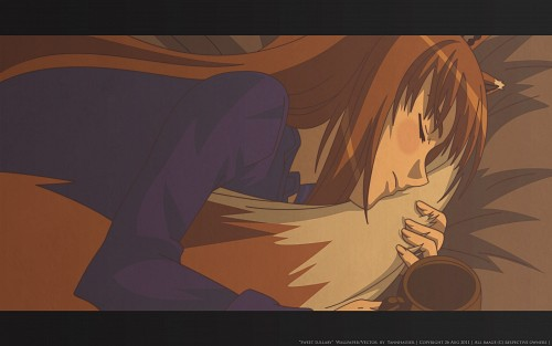 Juu Ayakura, Spice and Wolf, Horo, Vector Art Wallpaper