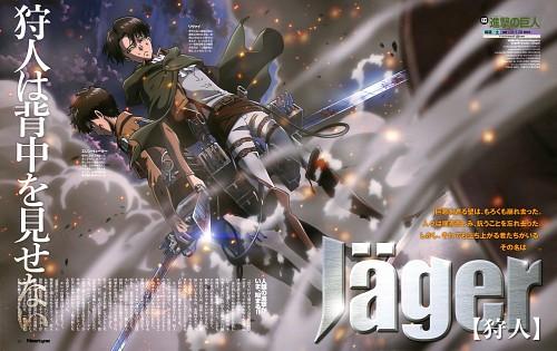 Hajime Isayama, Production I.G, Shingeki no Kyojin, Levi Ackerman, Eren Yeager