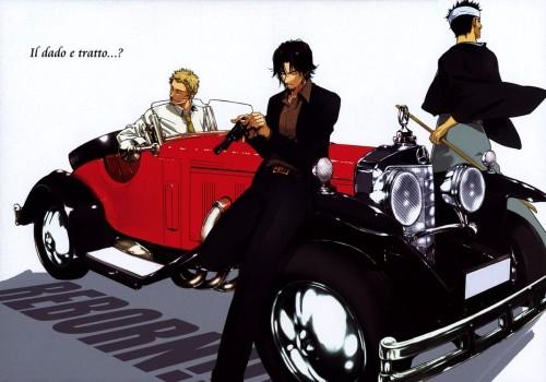Katekyo Hitman Reborn!, Doctor Shamal, Tsuyoshi Yamamoto, Iemitsu Sawada, Doujinshi
