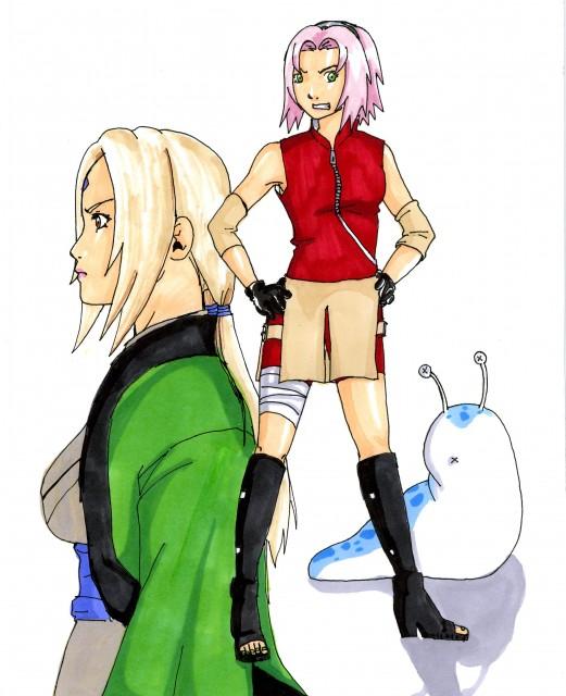Studio Pierrot, Naruto, Tsunade, Sakura Haruno, Member Art