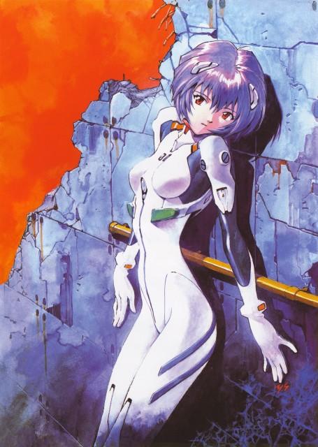 Yoshiyuki Sadamoto, Neon Genesis Evangelion, Der Mond, Rei Ayanami