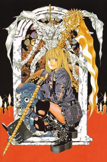 Takeshi Obata, Death Note, Blanc et Noir, Rem, Misa Amane