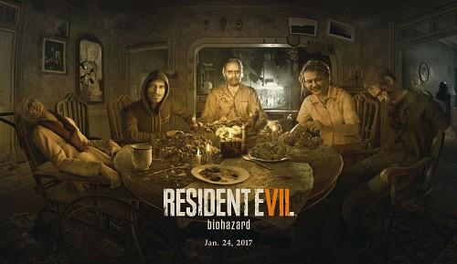 Capcom, Resident Evil 7, Marguerite Baker, Jack Baker, Andre Strickland
