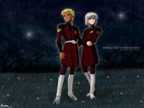 Sunrise (Studio), Mobile Suit Gundam SEED, Yzak Joule, Dearka Elthman Wallpaper