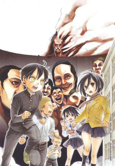 Shingeki no Kyojin, Mikasa Ackerman, Eren Yeager